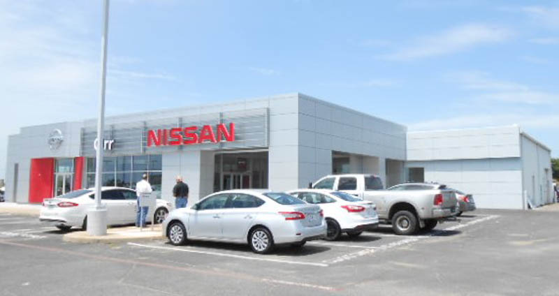 Orr Nissan of Paris, TX